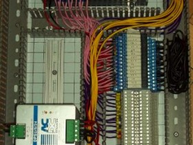 Pnuematic Control Project -PLC Control Panel